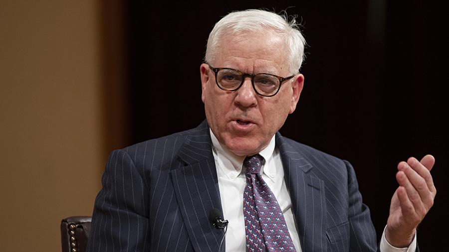 Carlyle Group co-founder David Rubenstein speaks at Georgetown's McDonough School of Business