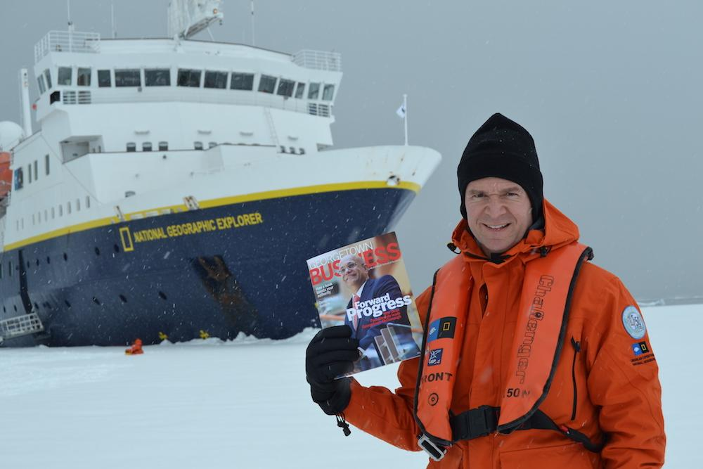 Holtom in Antarctica
