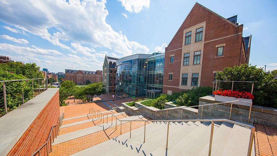 The McDonough School of Business Building in Washington DC