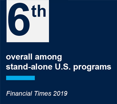 6th Overall among stand-along US programs