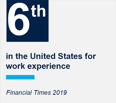 Georgetown McDonough is 6th in the U.S. for work-experience according to the Financial Times