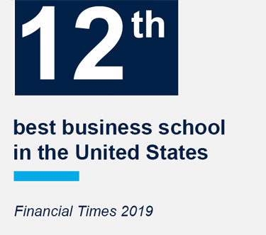 Georgetown McDonough is ranked 12th best business school in the United States from Financial Times 2019