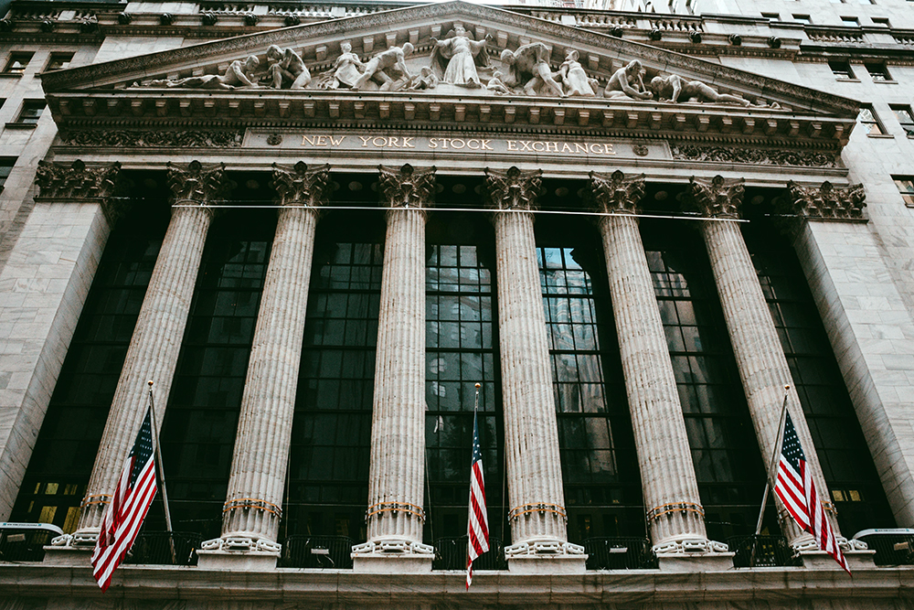 New York Stock Exchange Building. Photo by Aditya Vyas on Unsplash