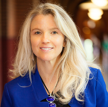 Catherine Tinsley, Raffini Family Professor of Management at Georgetown University's McDonough School of Business