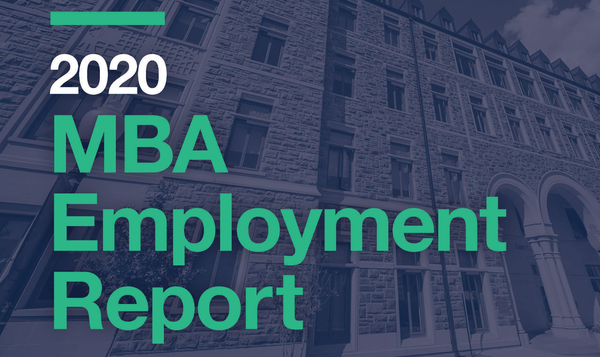 2020 MBA Employment Report