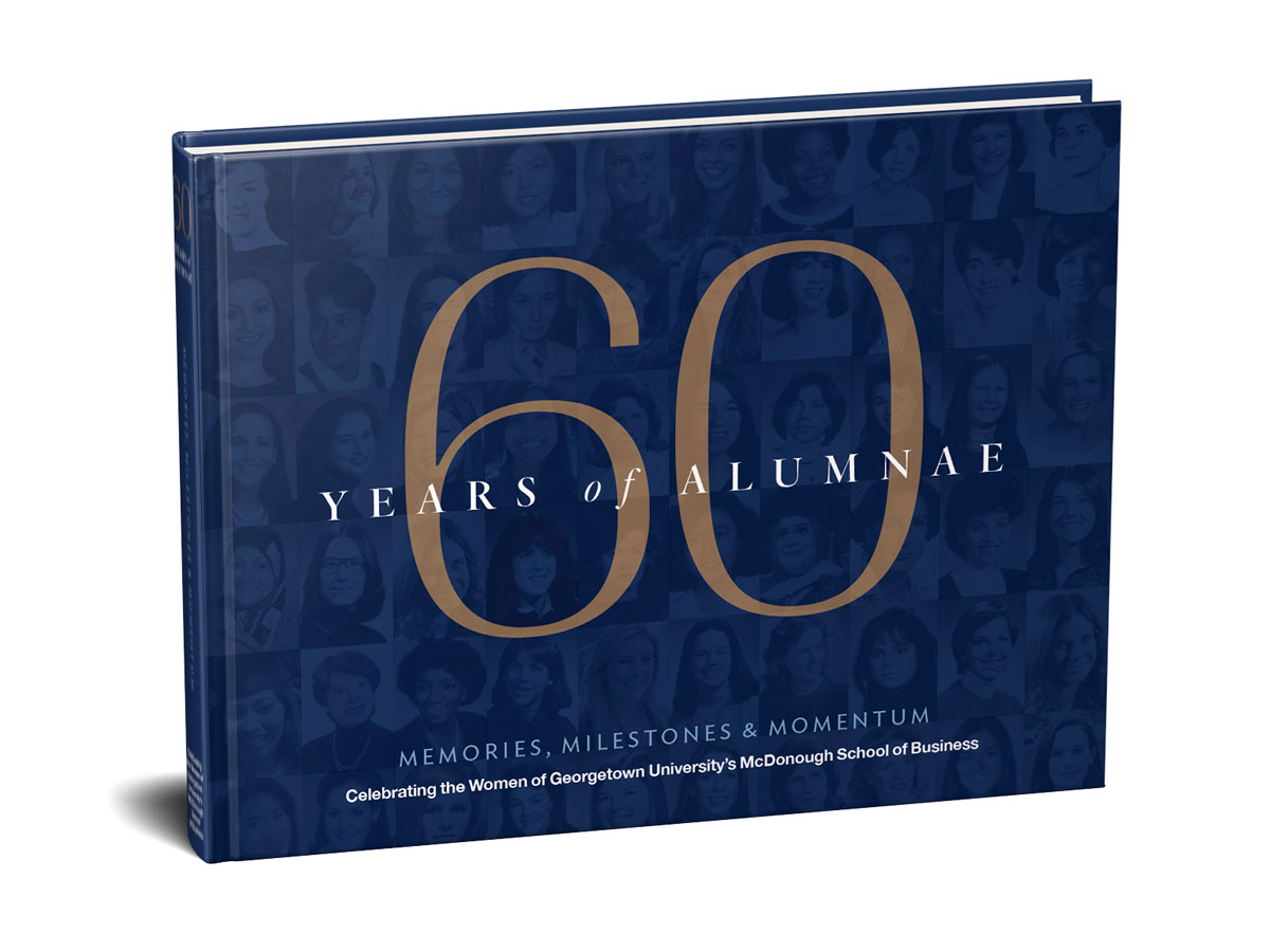 Memories, Milestones, and Momentum chronicles the stories of McDonough alumnae since 1960