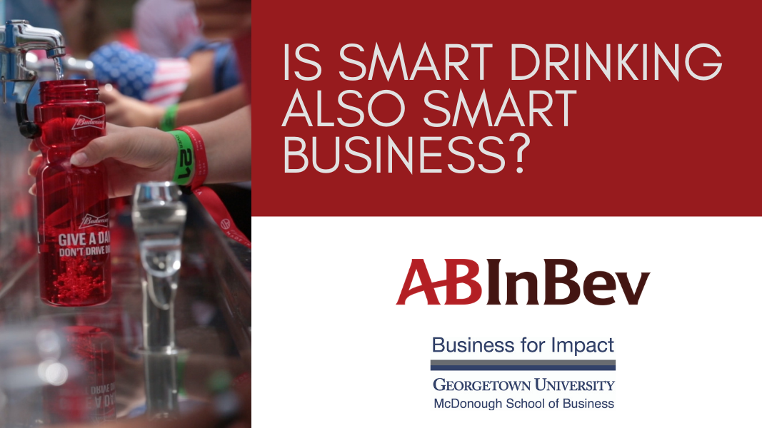 """Graphic with """"Is Smart Drinking Also Smart Business?"""""""