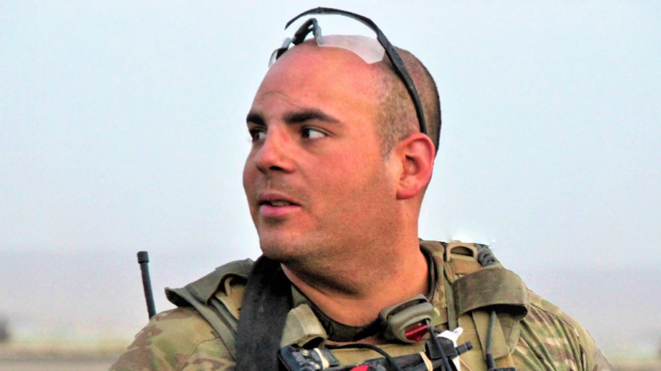 Headshot of Timothy Torres in his military uniform.