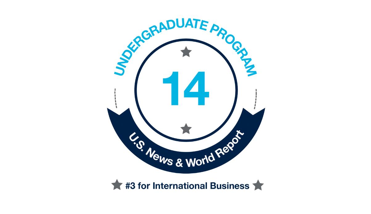 Undergraduate Program Ranked #14 by U.S. News