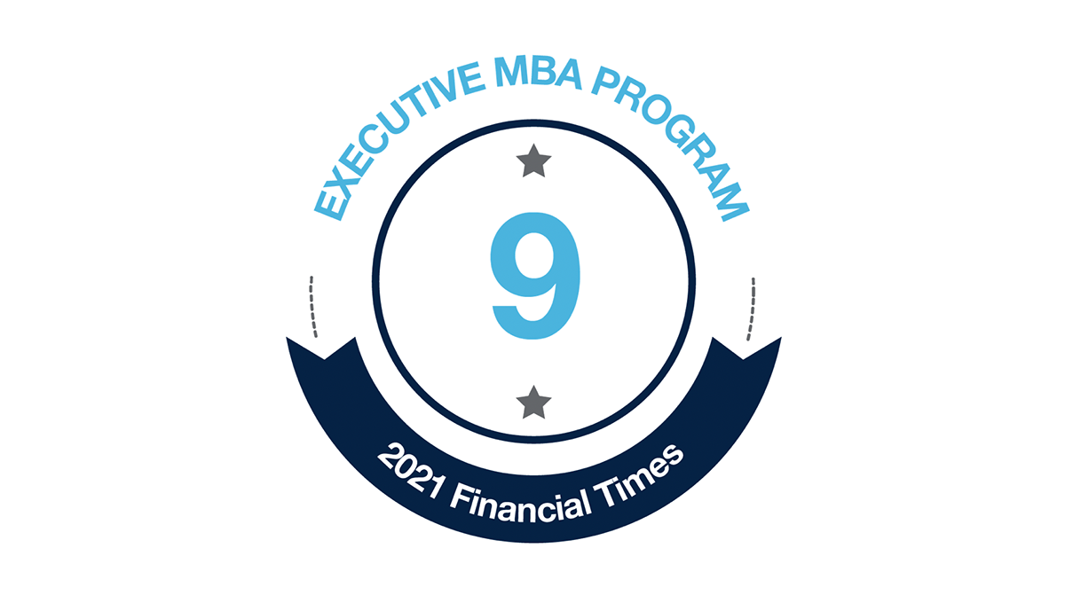 Executive MBA Ranks 9th in Financial Times